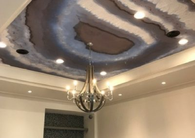 Game Room Ceiling Wall covering image.