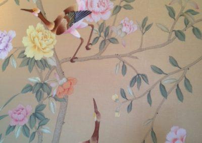 Custom Hand Painted Silk Panels