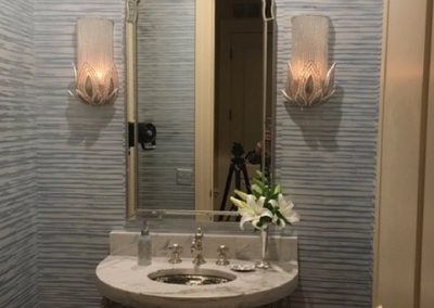 Powder Room Wall Covering paper