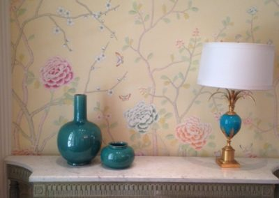 Custom DeGournay Panels Wall Covering