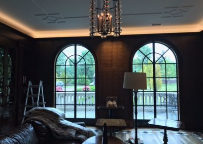 Leather Upholstery Walls
