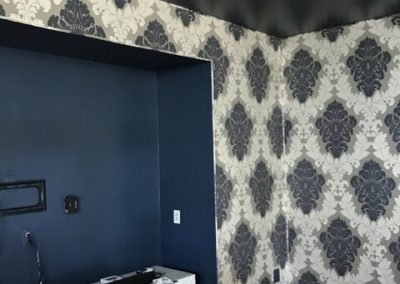 Media Room Wall Upholstery