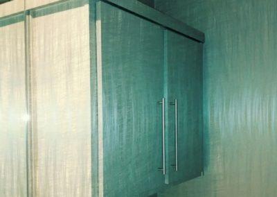 Bathroom Wall Paper Detail