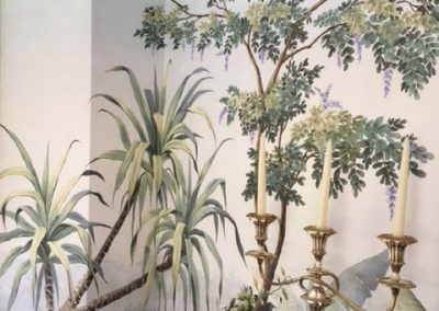 Wall Paper Scenics Dining Room