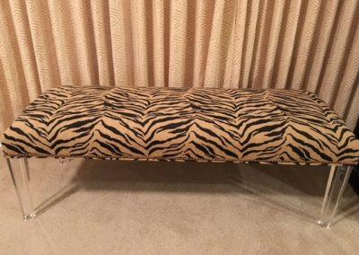 Custom Upholstery Bench