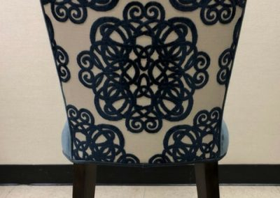Custom Upholstery Chair Back