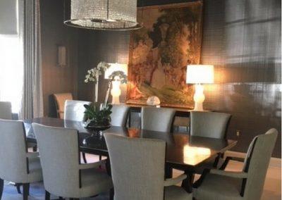 Phillip Jefferies Metallic Dining Room