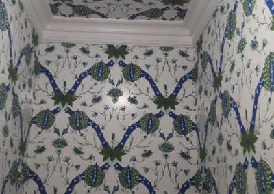 Artichoke wallpaper by Sherle Wagner