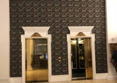 Fabric Elevator Wall-